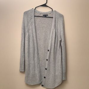 American Eagle Knit Button Front Cardigan Sweater